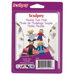 Molde Family Time Sculpey