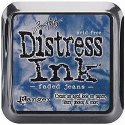 Tinta Distress Faded Jeans