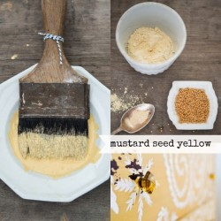 Milk Paint Mustard Seed Yellow Tester