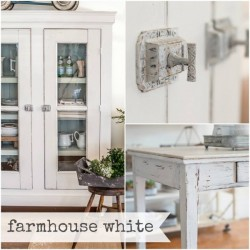 Milk Paint Farmhouse White Tester