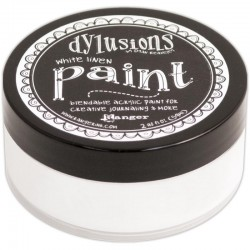 White Linen Paint Dylusions