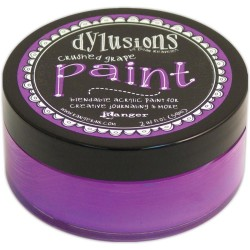 Crushed Grape Paint Dylusions