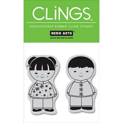 Sellos cling Friends
