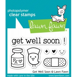 Sellos Lawn Fawn Get Well