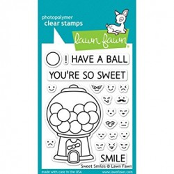 Sellos Lawn Fawn Sweet Smiles