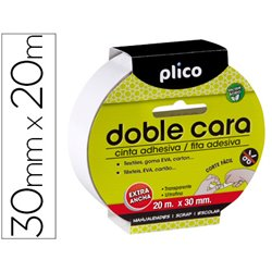 Cinta de Doble Cara 30mm x 20m