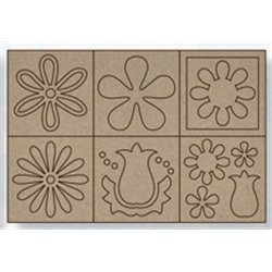 Big Board chipboard flores