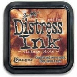 Tinta Distress Vintage Photo