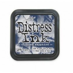 Tinta Distress Chipped Sapphire