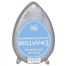 Brilliance Pearlescent Sky Blue
