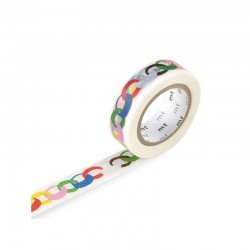 Washi Tape MT Mina Perhonen Ring Vivid