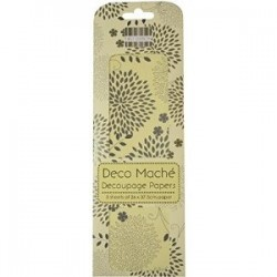 Deco maché Floral Spray