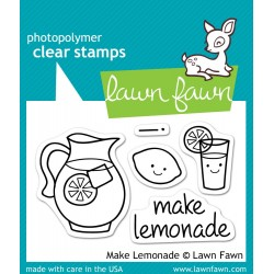 Sellos Lawn Fawn Make Lemonade