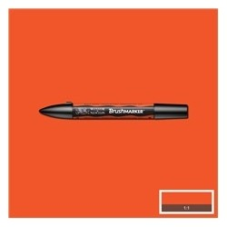 BrushMarker Bright Orange