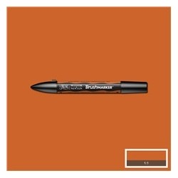 BrushMarker Saddle Brown
