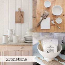 Milk Paint Ironstone tester