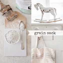 Milk Paint Grain Sack Tester