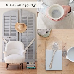 Milk Paint Shutter Grey Tester
