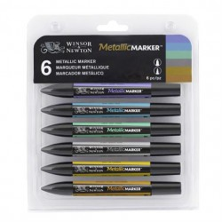 Set 6 Metallic Marker