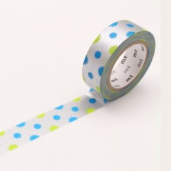 Washi Tape MT KiraKira Silver