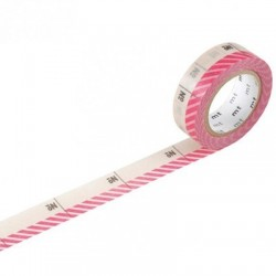 Washi Tape MT Number Pink