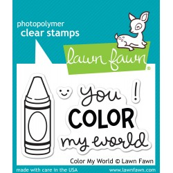Sellos Lawn Fawn Color my World