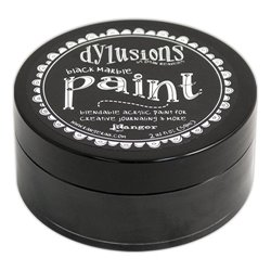 Black Marble Paint Dylusions
