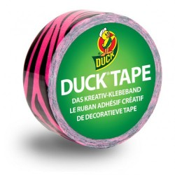 Mini Duck Tape Pink Zebra