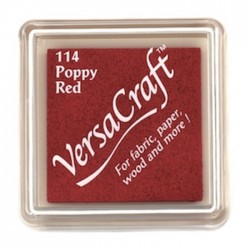 Versacraft Mini Poppy Red