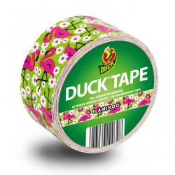 Duck Tape Flamingo