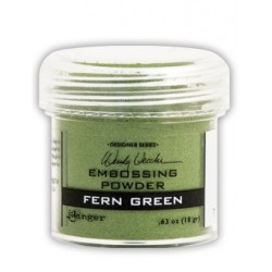 Polvo de Embossing Fern Green