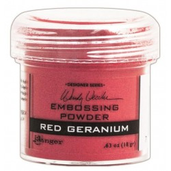 Polvo de Embossing Red Geranium