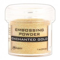 Polvo de Embossing Enchanted Gold