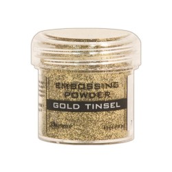 Polvo de Embossing Gold Tinsel