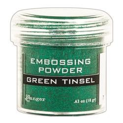 Polvo de Embossing Green Tinsel