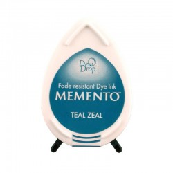 Tinta Memento Drop Teal Zeal